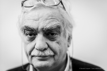 Lello (Elio) Piazza,writer around photography, faculty Politecnico di Milano. Monza, December 2018