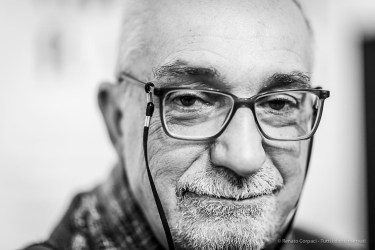 "Michele Smargiassi, giornalista. Milano, January 2019. . Nikon D810, 85 mm (85 mm ƒ/1.4) 1/125"" ƒ/1.4 ISO 800"