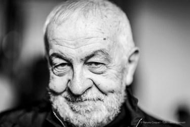 "Gianni Canova, acadenic, movie critic, essayist, dean IULM University. Milano, January 2019. Nikon D810, 85 mm (85 mm ƒ/1.4) 1/125"" ƒ/1.4 ISO 100"
