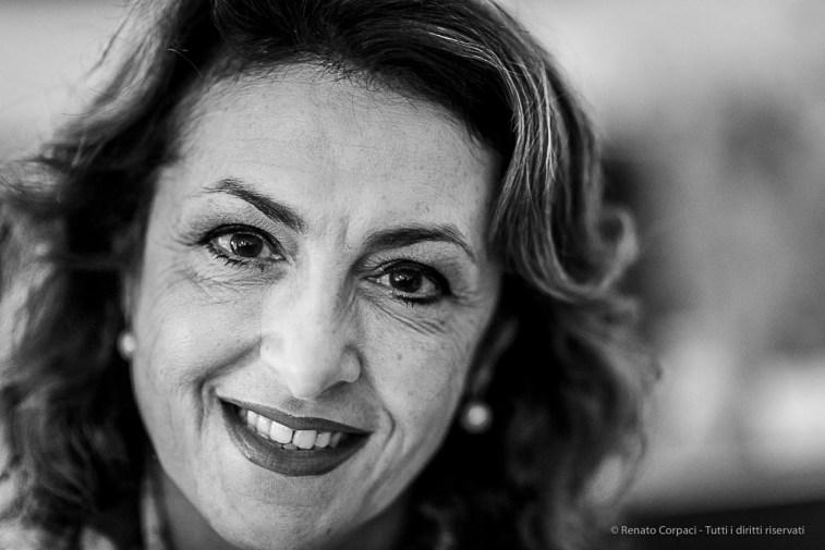 """PierCarla del Piano, president Fondazione Stelline. Milano, January 2019. Nikon D810, 85 mm (85 mm ƒ/1.4) 1/125"""" ƒ/1.4 ISO 800"""