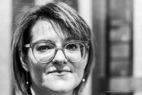 Diana Baldon, curator at large Fondazione Modena Arti Visive. March 2019. Nikon D810, 85 mm (85 mm ƒ/1.4) 1/125 ƒ/1.4 ISO 800