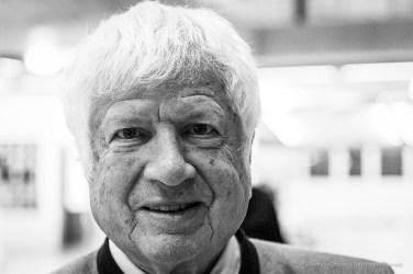 Franz Zelger, Dr. phil., Professor of Art History, University of Zurich. Lugano, March 2019. Nikon D810, 85 mm (24-120 mm ƒ/4) 1/125 ƒ/4,5 ISO 10000