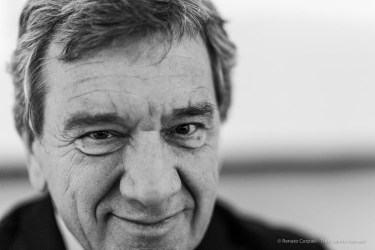 Gino Lugli, president FMAV - Fondazione Modena Arti Visive. March 2019. Nikon D810, 85 mm (85 mm ƒ/1.4) 1/125 ƒ/1.4 ISO 800