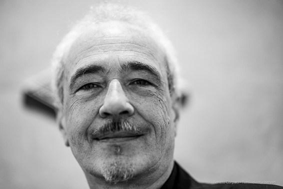 Luigi Pedrazzi, art dealer, Arteutopia. Milano, April 2019. Milano, April 2019. Nikon D810, 85 mm (85 mm ƒ/1.4) 1/125 ƒ/1.4 ISO 900