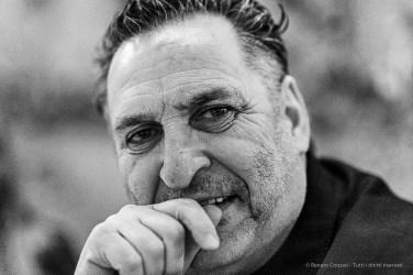 Maurizio Galimberti, photographer. Milano, April 2019. D810, 85 mm (85 mm ƒ/1.4) 1/125 ƒ/1.4 ISO 12800
