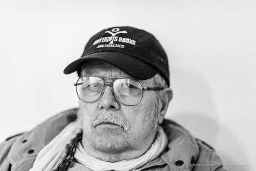 Sergio Sarri, artist. Milano, April 2019. Milano, April 2019. Nikon D810, 85 mm (85 mm ƒ/1.4) 1/125 ƒ/1.4 ISO 1600