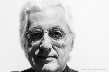 "Germano Celant (1940-2020), art historian, critic, curator. Venice, May 2019. Nikon D810, 85 mm (85.0 mm ƒ/1.4) 1/125"" ƒ/1.4 ISO 280"