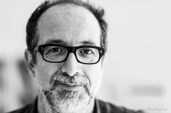 "Luca Molinari, architect, historian of archhitecture, curator. Milano, June 2019. Nikon D810 85 mm (85 mm ƒ/1.4) 1/125"" ƒ/1.4 ISO 64"