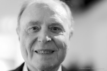 "Ennio Doris, billionaire, businessman, the founder and chairman of Mediolanum SpA. Milano, October 2019. Nikon D810, 85mm (85,0 mm ƒ/1.4) 1/125"" ƒ/1.4 ISO 3600"