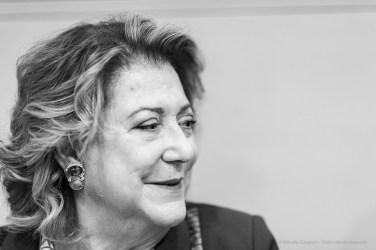"""Diana Bracco president Bracco Foundation, CEO Gruppo Bracco. Milano, November 2019. Nikon D810, 85mm (85,0 mm ƒ/1.4) 1/125"""" ƒ/1.4 ISO 1000"""