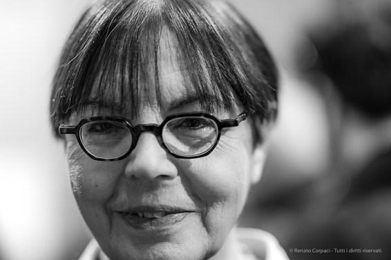 """Giovanna Calvenzi, photography historian, photo-editor. Milano, February 2020. Nikon D810, 85mm (85,0 mm ƒ/1.4) 1/125"""" ƒ/1.4 ISO 280"""
