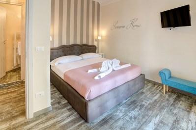Foto della camera da letto appartamento in affitto a Sanremo