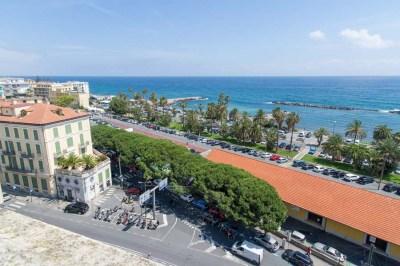 Appartamento con vista mare a Sanremo