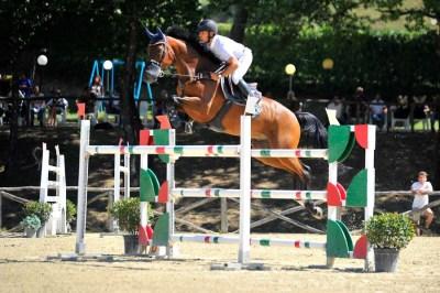 Equitazione salto ostacoli