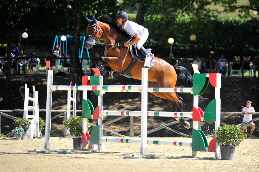 Foto di equitazione presso il Pistoia Equestrian Centre