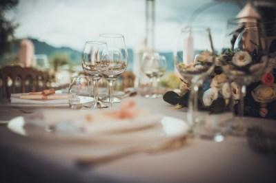 Tavolo matrimonio Villa Roseto