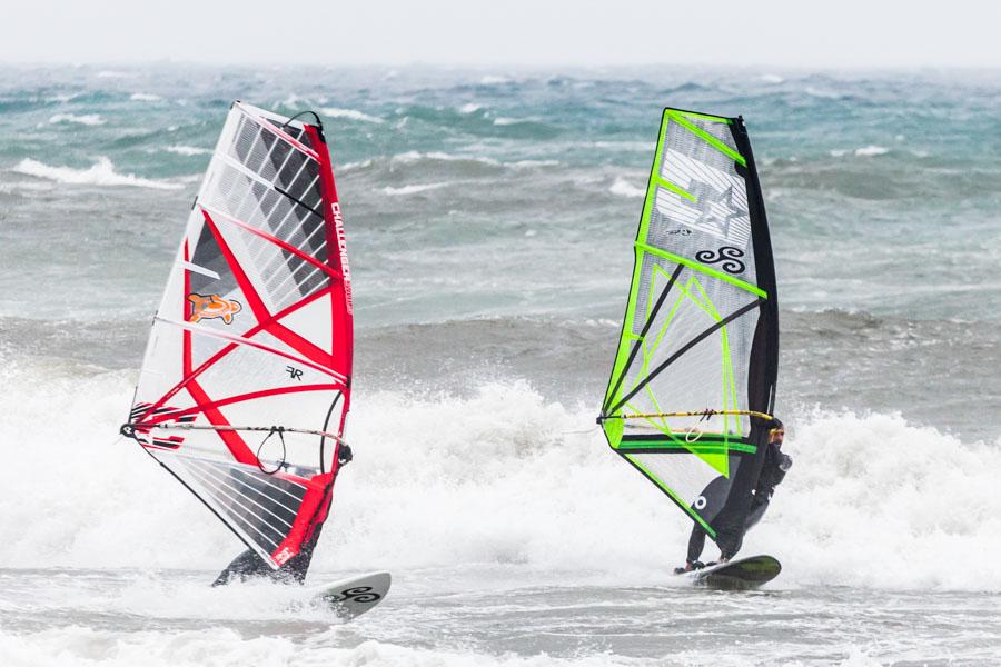 Foto di surfisti a Porto Maurizio