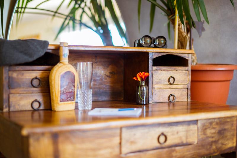 Dettaglio artistico mobile sala