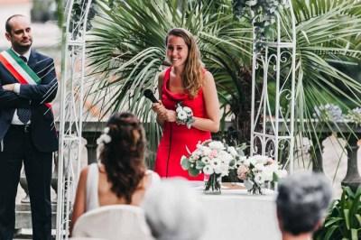 Discorso del testimone nozze Villa Roseto