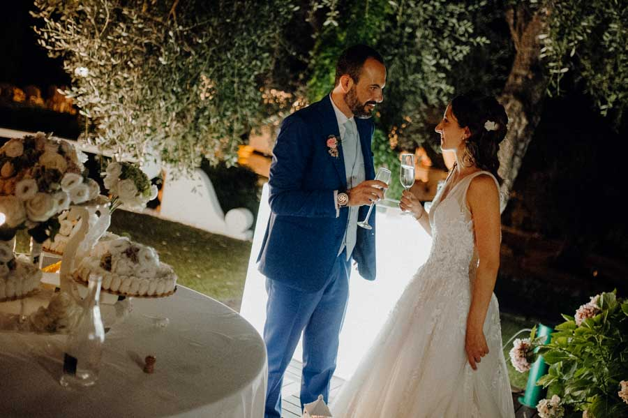 Brindisi e taglio torta - Matrimonio