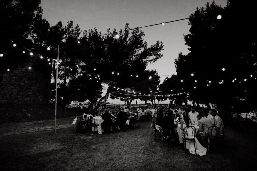 fotografia del ricevimento durante matrimonio a Sanremo