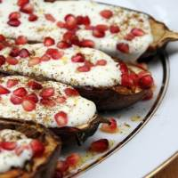 Baked Aubergine {Yotam Ottolenghi Recipe}