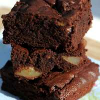 Pear And Chocolate Brownies