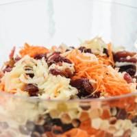 Polish Carrot and Apple Salad (Surówka z Marchewki)