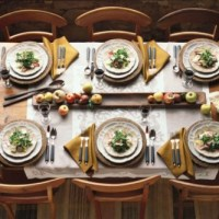 Giveaway: Bertolli Gold Italian Hamper and Table Settings