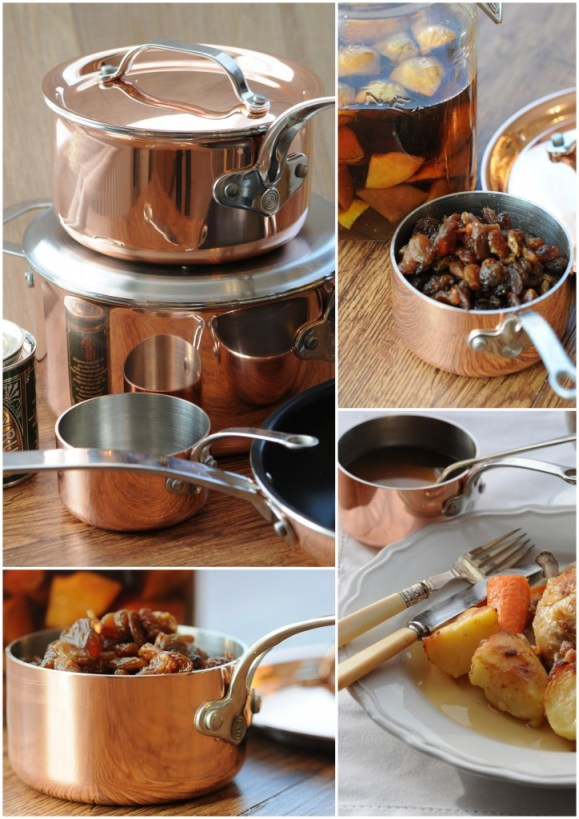 Tri-Ply Copper Pans