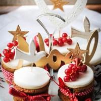 Mini Christmas Cakes and a Merry Christmas!