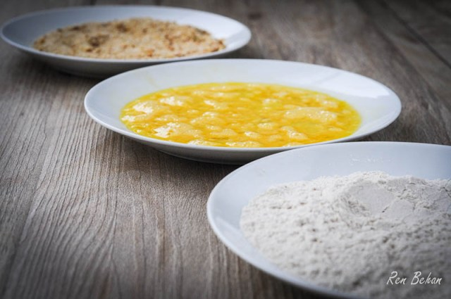 Flour Egg Breadcrumbs