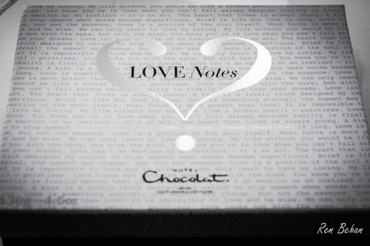 Love Notes Hotel Chocolat