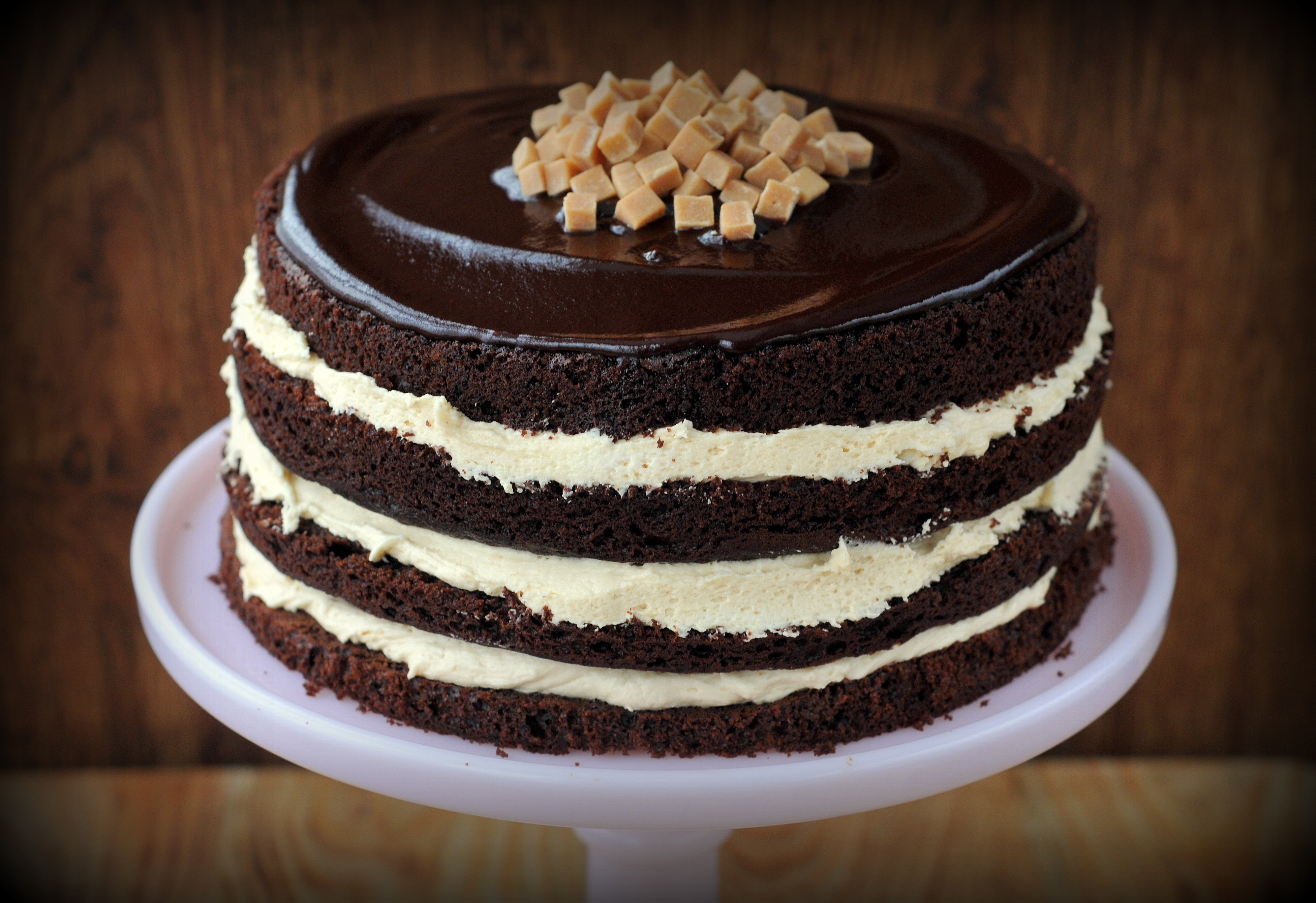 Chocolate Salted Caramel Cake Waitrose
