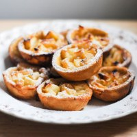 Toffee Apple Tarts, 3 years of blogging and a refresh!