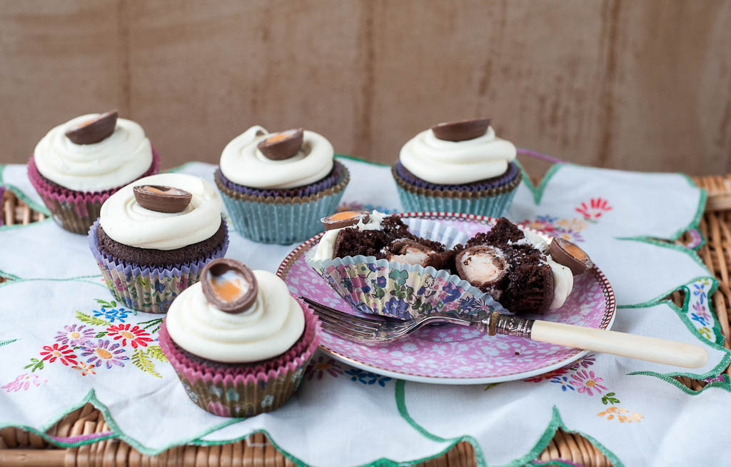 Easy easter recipes good food channel ren behan author wild creme egg cupcakes forumfinder Choice Image