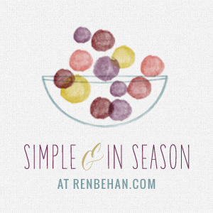 Simple and in Season Badge