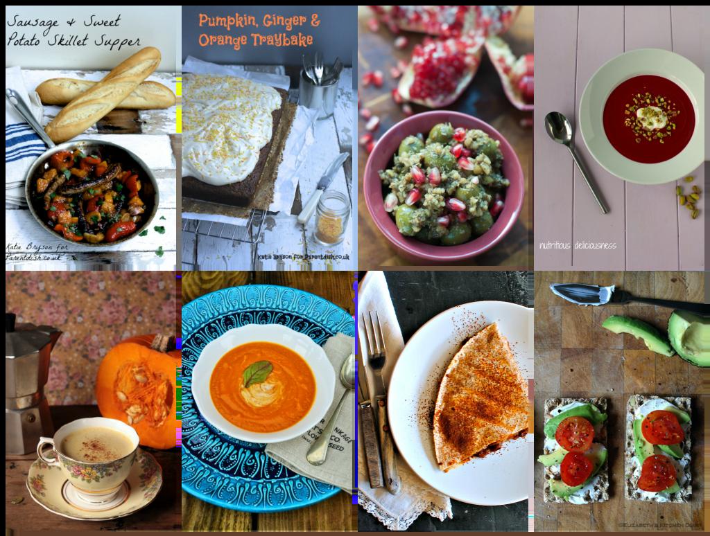 Seasonal Recipes October