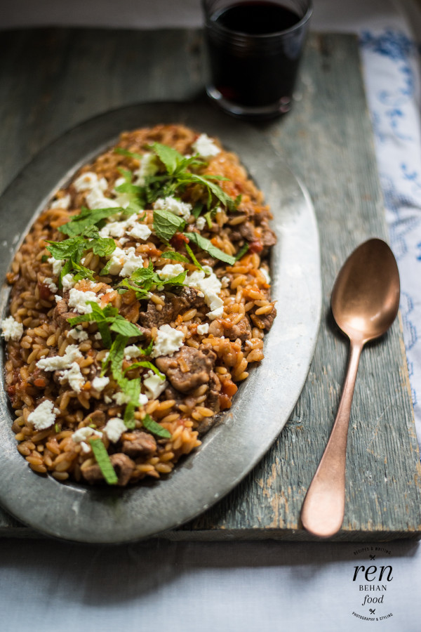 Cypriot Lamb with Orzo