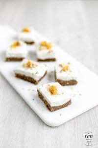 Raw Vegan Carrot Cakes