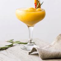 Vitamix Frozen Peach and Rosemary Margarita {Great British Chefs}