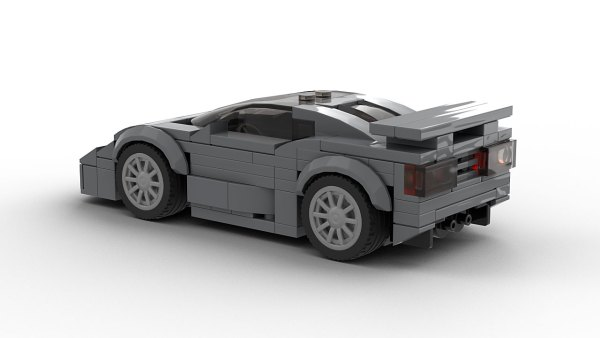 LEGO Bugatti EB 110 Super Sport Model Rear View