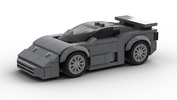 LEGO Bugatti EB 110 Super Sport Model