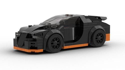 LEGO Bugatti Veyron 16 4 Super Sport Model
