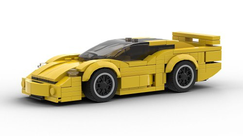 LEGO Jaguar XJ220 S TWR Model
