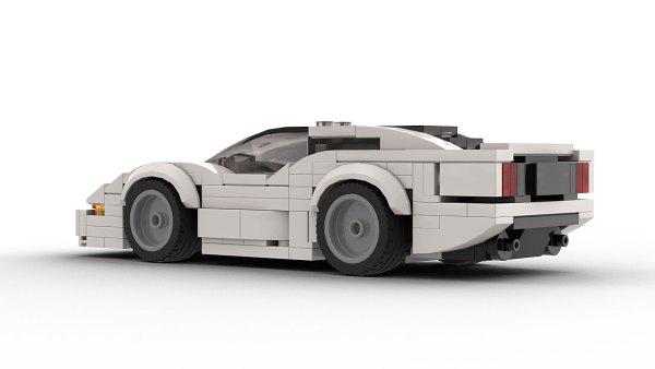 LEGO Jaguar XJ220 Model Rear View
