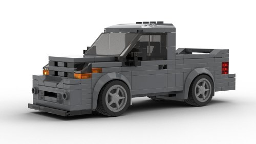 LEGO Dodge Ram SRT-10 Facelift