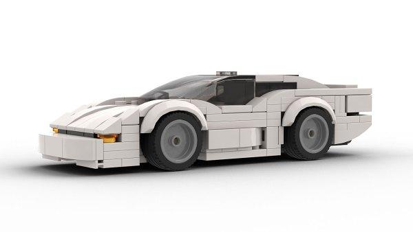 LEGO Jaguar XJ220 Model