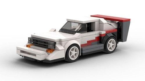 LEGO Audi Sport Quattro Pikes Peak Model