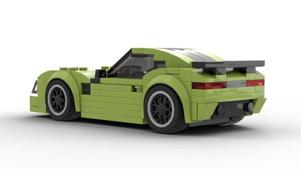 LEGO Mercedes AMG GT Model Rear View